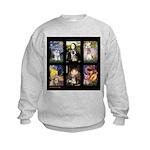 FamourArtSchnauzers 1 Kids Sweatshirt