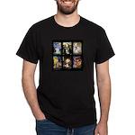 FamourArtSchnauzers 1 Dark T-Shirt
