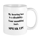 SPEAK UP! Small Mug