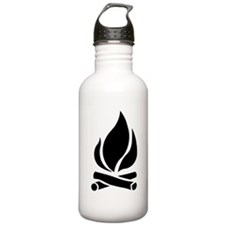 Campfire Water Bottle