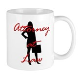 Attorney at Law Small Mug