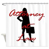 Attorney at Law Shower Curtain