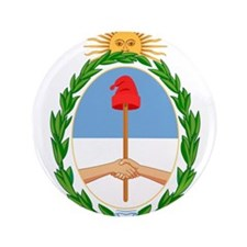 "Argentina Coat Of Arms 3.5"" Button (100 pack)"
