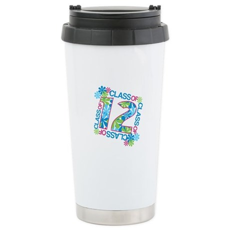 Class 2012 Blossoms Ceramic Travel Mug