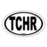Teacher Oval Bumper Stickers