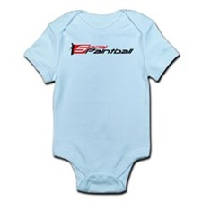Social Paintball Black Logotype Infant Bodysuit