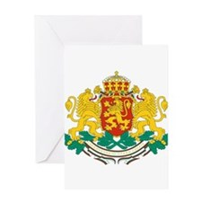 Bulgaria Coat Of Arms Greeting Card
