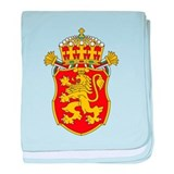 Bulgaria Lesser Coat Of Arms baby blanket