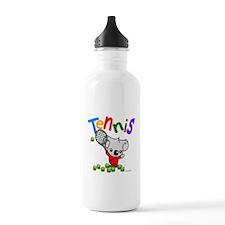 Tennis Koala Bear Water Bottle
