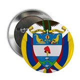"Colombia Coat Of Arms 2.25"" Button"