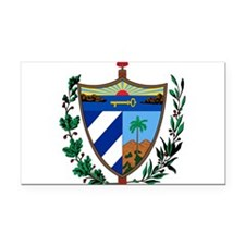 Cuba Coat Of Arms Rectangle Car Magnet