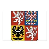 Czech Republic Coat Of Arms Postcards (Package of