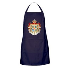 Royal Denmark Coat Of Arms Apron (dark)