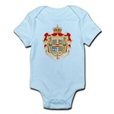 Royal Denmark Coat Of Arms Infant Bodysuit
