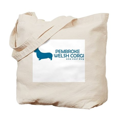 "Corgi ""One Cool Dog"" Tote Bag"
