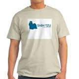 Shih Tzu &quot;One Cool Dog&quot; Ash Grey T-Shirt