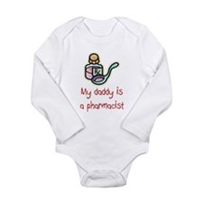 Cute Prescription Long Sleeve Infant Bodysuit
