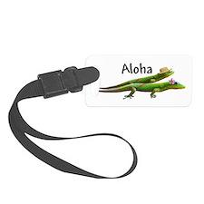 hawaiian geckosAloha.png Luggage Tag