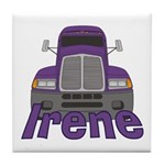 Trucker Irene Tile Coaster