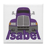 Trucker Isabel Tile Coaster