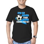 So Good - Soccer Men's Fitted T-Shirt (dark)