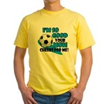 So Good - Soccer Yellow T-Shirt