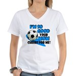 So Good - Soccer Women's V-Neck T-Shirt