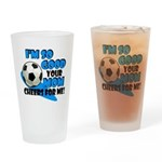 So Good - Soccer Drinking Glass
