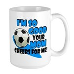 So Good - Soccer Large Mug