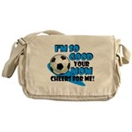 So Good - Soccer Messenger Bag