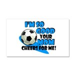 So Good - Soccer Car Magnet 20 x 12