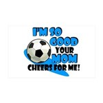 So Good - Soccer 35x21 Wall Decal