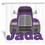 Trucker Jada Shower Curtain