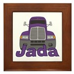 Trucker Jada Framed Tile