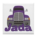 Trucker Jada Tile Coaster