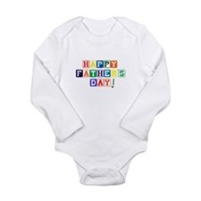 Unique Happy father's day Long Sleeve Infant Bodysuit