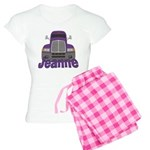 Trucker Jeanne Women's Light Pajamas