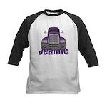 Trucker Jeanne Kids Baseball Jersey