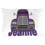 Trucker Jeanne Pillow Case