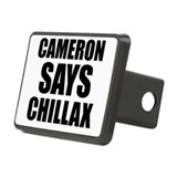 Cameron says Chillax Rectangular Hitch Cover