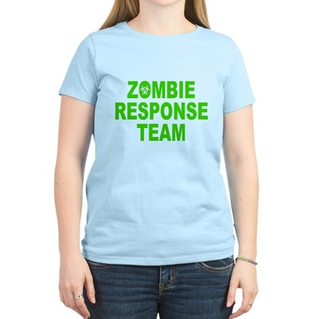Zombie Response Team Womens Light T-Shirt