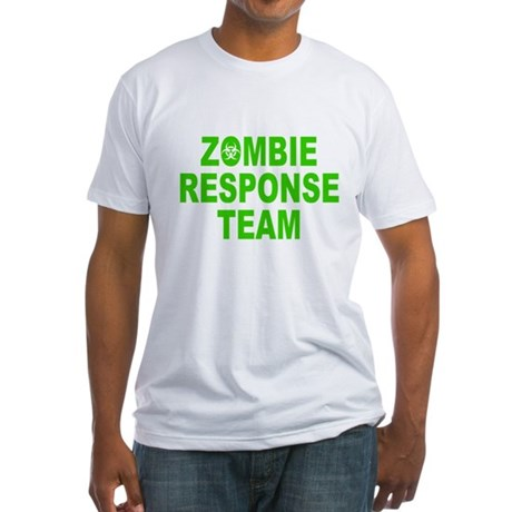 Zombie Response Team Fitted T-Shirt