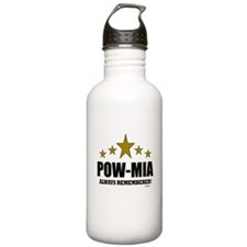 POW-MIA Always Remembe Water Bottle