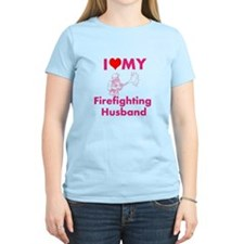 I love my firefighting husband T-Shirt