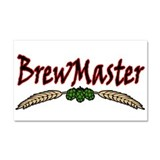 BrewMaster2.png Car Magnet 20 x 12