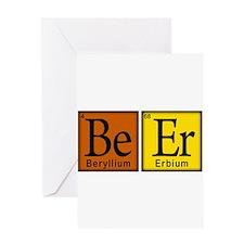 Periodic-Beer.png Greeting Card