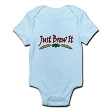 JustBrewIt-White Infant Bodysuit