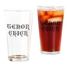 Tenor Chick Drinking Glass