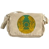 Kazakhstan Coat Of Arms Messenger Bag
