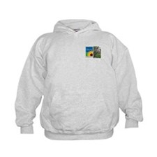 Eye on Gardening Tropical Plants Kids Sweatshirt